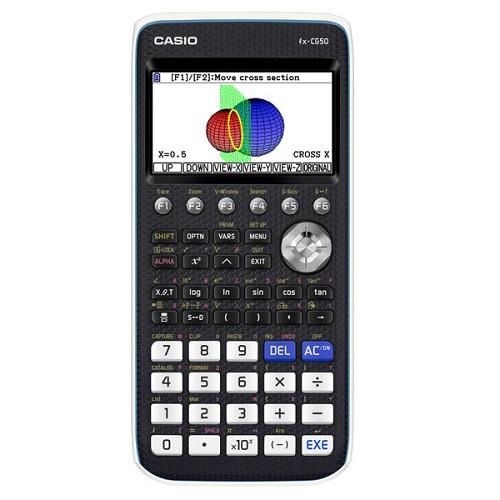 【長期保証付】CASIO fx-CG50(ブラック) カラーグラフ関数電卓 10桁