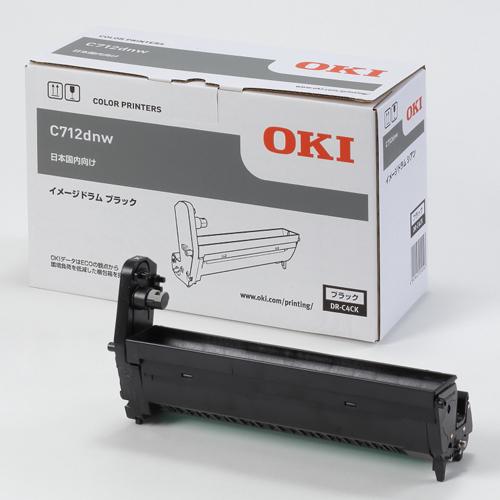 OKI DR-C4CK 純正 イメージドラム ブラック