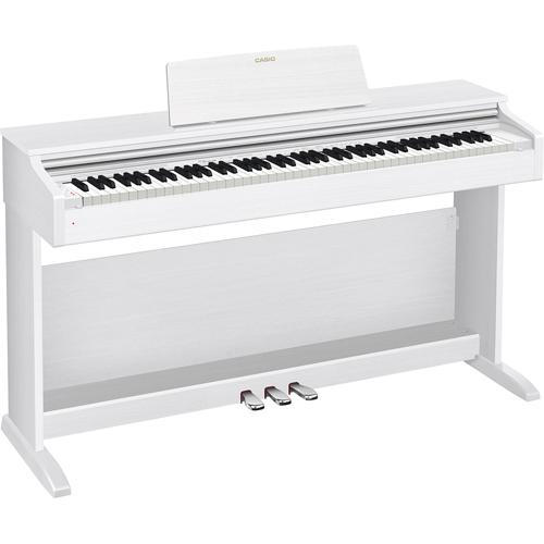【標準設置料金込】【送料無料】CASIO AP-270-WE(ホワイトウッド調) CELVIANO(セルヴィアーノ) 電子ピアノ 88鍵盤[代引・リボ・分割・ボーナス払い不可]