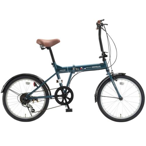マイパラス 20インチ 折畳自転車20・6SP M-208-OC(オーシャン)