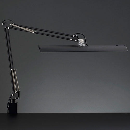 山田照明 Z-10NB(ブラック) Z-Light LEDスタンドライト クランプ式