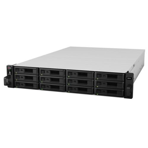 Synology RS2416RP+(ブラック) RackStation HDDレスモデル 12ベイ