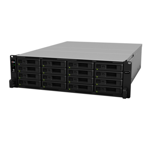 Synology RS4017xs+(ブラック) RackStation HDDレスモデル 16ベイ