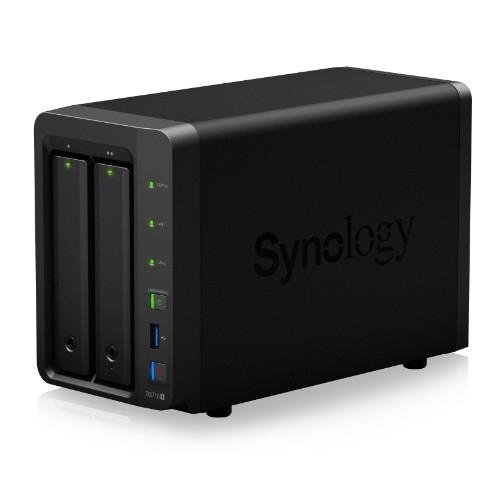 Synology DS718+(ブラック) DiskStation HDDレスモデル 2ベイ