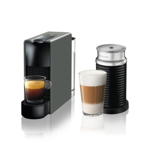 【長期保証付】ネスレ C30GRA3B(インテンスグレー) コーヒーメーカーエッセンサミニバンドルセット