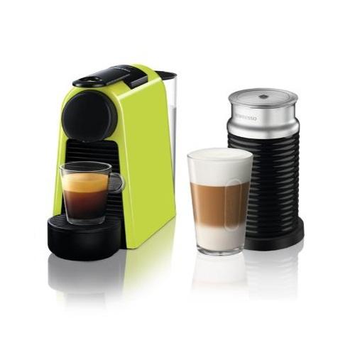 【長期保証付】ネスレ D30GNA3B(ライムグリーン) コーヒーメーカーエッセンサミニバンドルセット