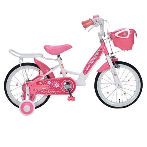 マイパラス MD-12(PINK)(ピンク) 子供用自転車16・補助輪付