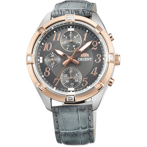 オリエント SUY04005A0(グレー) 海外モデル 日本製 クオーツ 腕時計 メンズ