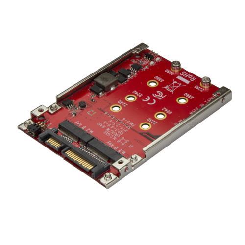 StarTech S322M225R デュアルM.2 - SATA変換アダプタ RAID