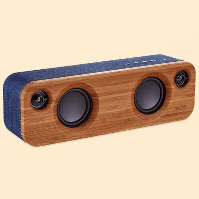【長期保証付】The House of Marley EM GET TOGETHER MINI DN(デニム) GET TOGETHER MINI スピーカー Bluetooth接続