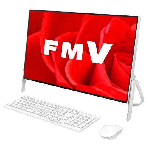【長期保証付】富士通 FMVF52B3W2(ホワイト) ESPRIMO FHシリーズ 23.8型液晶