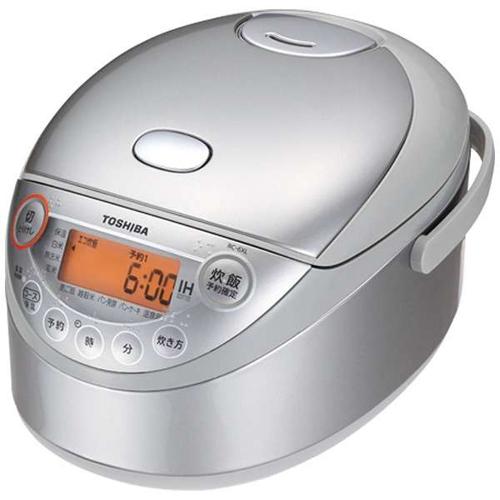 【長期保証付】東芝 RC-6XL-S(シルバー) IHジャー炊飯器 3.5合