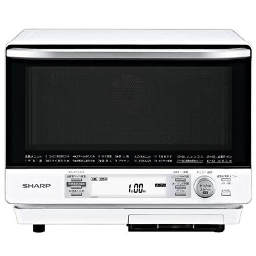 【長期保証付】シャープ RE-V100A-W(ホワイト) 過熱水蒸気オーブンレンジ 31L