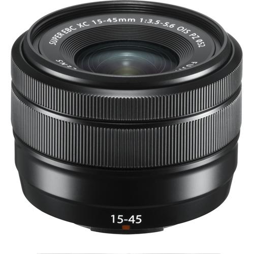 富士フイルム フジノンレンズ XC15-45mmF3.5-5.6 OIS PZ(ブラック)