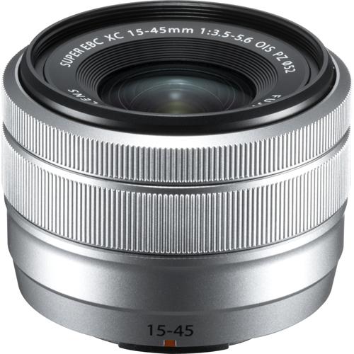 【長期保証付】富士フイルム フジノンレンズ XC15-45mmF3.5-5.6 OIS PZ(シルバー)