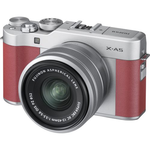 【長期保証付】富士フイルム X-A5 レンズキット(ピンク)