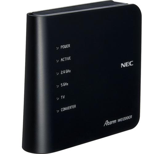 売店 在庫あり 14時までの注文で当日出荷可能 NEC PA-WG1200CR 無線LANルーター a b 5☆大好評 n g IEEE802.11ac