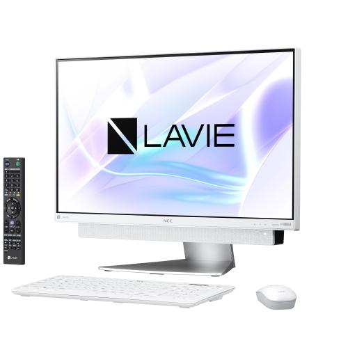 NEC PC-DA770KAW(ホワイトシルバー) LAVIE Desk All-in-one 23.8型液晶