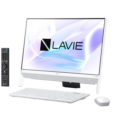 【長期保証付】NEC PC-DA370KAW(ファインホワイト) LAVIE Desk All-in-one 23.8型液晶
