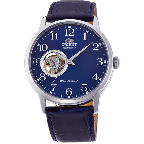 オリエント RN-AG0010L(ネイビー) オリエント 自動巻き(手巻付き) 腕時計 メンズ