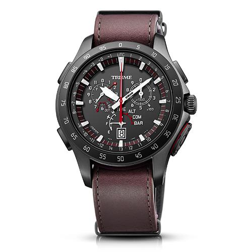 エプソン TR-MB7005(ブラック) TRUME ソーラー 腕時計(メンズ)