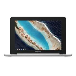 ASUS(エイスース) ノートPC Chromebook Flip 10.1型液晶 シルバー C101PA-OP1