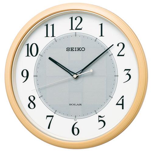 セイコー SF243B ソーラー 電波掛け時計, LODGE:7a0b1d3d --- aiteni.jp