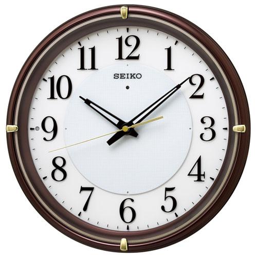 セイコー KX233B 夜でも見える 電波掛け時計
