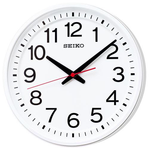 セイコー KX236W オフィスタイプ 電波掛け時計