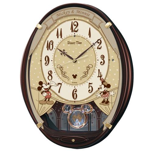 セイコー FW579B ディズニー ミッキー&フレンズ 電波掛け時計
