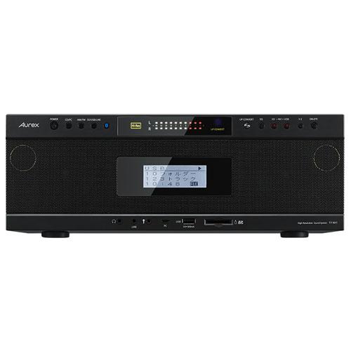 東芝 TY-AH1-K(ブラック) Aurex ハイレゾ対応SD USB CDラジオ Bluetooth ワイドFM対応