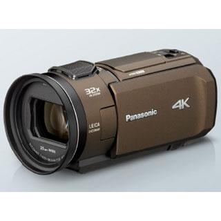 【長期保証付】パナソニック HC-VX1M-T(ブラウン) デジタル4Kビデオカメラ 64GB