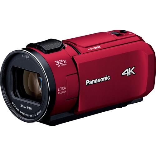 【長期保証付】パナソニック HC-VX1M-R(レッド) デジタル4Kビデオカメラ 64GB
