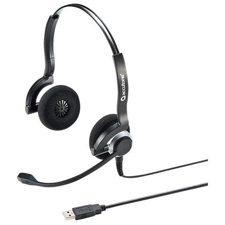 サンワサプライ MM-HSU08BK(ブラック) USBヘッドセット