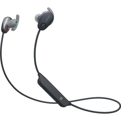 【長期保証付】ソニー WI-SP600N-B(ブラック) ワイヤレスノイズキャンセリングステレオヘッドセット