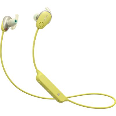 ソニー WI-SP600N-Y(イエロー) ワイヤレスノイズキャンセリングステレオヘッドセット