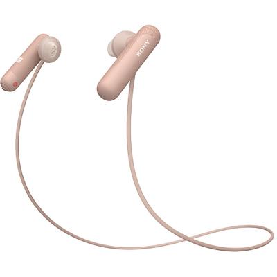 ソニー WI-SP500-P(ピンク) ワイヤレスステレオヘッドセット