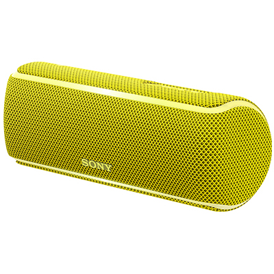ソニー SRS-XB21-Y(イエロー) ワイヤレスポータブルスピーカー Bluetooth接続