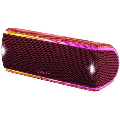 ソニー SRS-XB31-R(ツートーンレッド) ワイヤレスポータブルスピーカー Bluetooth接続
