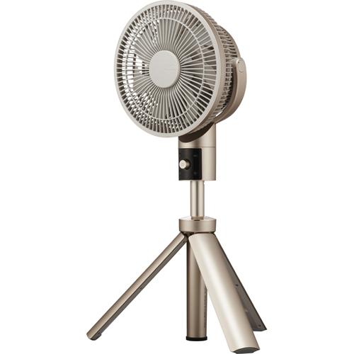 ドウシシャ TLKF-1201D-CGD(シャンパンゴールド) 20cm DCリビング扇風機 カモメファン リモコン付 TLKF1201DCGDひんやり 熱対策 アイス 冷感 保冷 冷却 熱中症 涼しい クール 冷気