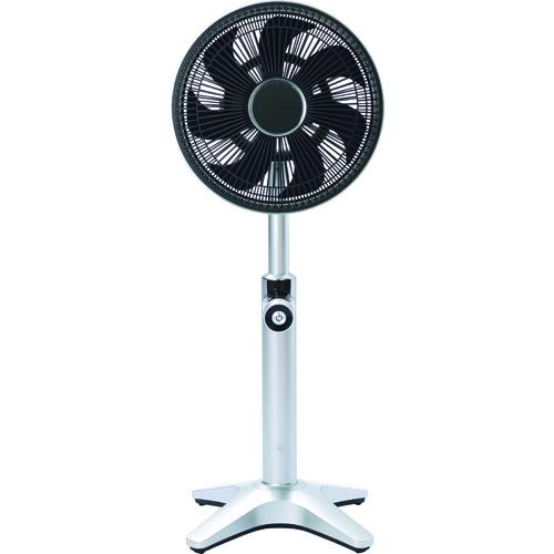 ドウシシャ TLKF-1251D-SI(シルバー) 25cm DCリビング扇風機 カモメファン リモコン付 TLKF1251DSIひんやり 熱対策 アイス 冷感 保冷 冷却 熱中症 涼しい クール 冷気