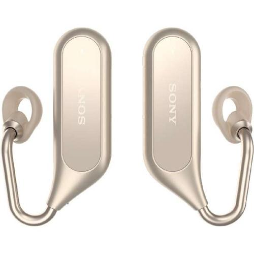 ソニー XEA20-N(ゴールド) Xperia Ear Duo ワイヤレスオープンイヤーステレオヘッドセット