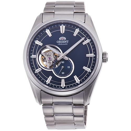 オリエント RN-AR0002L コンテンポラリーコレクション セミスケルトン 機械式時計 (メンズ)