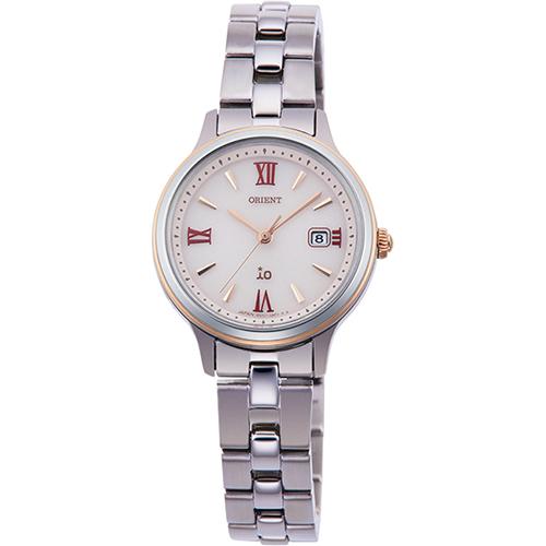 オリエント RN-WG0006P(ピンク) イオ ライトチャージ 腕時計 レディース