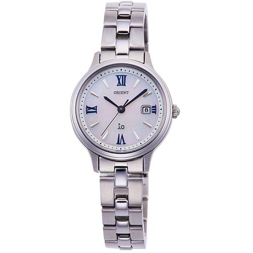 オリエント RN-WG0007A(白蝶貝) イオ ライトチャージ 腕時計 レディース