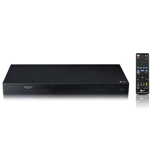 【長期保証付】LGエレクトロニクス UBK80 4K Ultra HD ブルーレイディスクプレーヤー