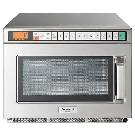 【長期保証付】パナソニック NE-1802 スタンダードタイプ PROシリーズ 電子レンジ 18L