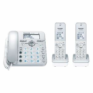 パナソニック VE-GZ31DW-S(シルバー) デジタルコードレス電話機 子機2台付き
