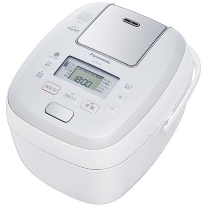 パナソニック SR-PB188-W(ホワイト) おどり炊き 可変圧力IHジャー炊飯器 1升