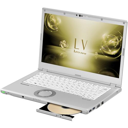 【長期保証付】パナソニック CF-LV72DGQR(シルバー) Let's note LV7 14.0型液晶
